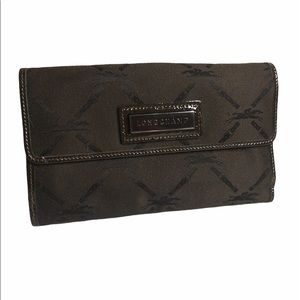 🦄RARE Longchamp Double Sided Wallet